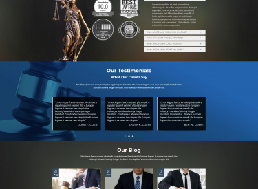 Lawyer Two Website